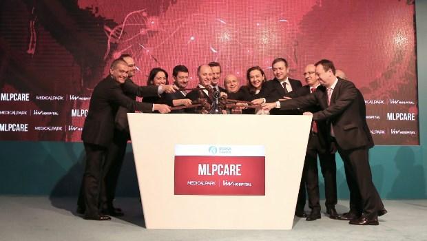 Medical Park ve Liv Hospital'ı bünyesinde barındıran MLP Sağlık Hizmetleri'nin (MLP Care) halka arzı tamamlandı. 13 Şubat 2018 tarihi itibariyle Borsa İstanbul'da işlem görmeye başlayan kurumun hisselerine yurtiçi ve yurtdışından yüksek kaliteli yatırımcılar ilgi gösterdi, halka arzın büyüklüğü toplam 1 milyar 384 milyon lira seviyesine ulaştı. Bu rakamla MLP Care'in toplam piyasa değeri de 4 milyar lirayı buldu.