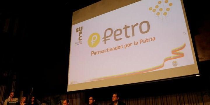 """""""Petro"""" adı verilen para birimi ülkenin petrol, doğal gaz ve elmas varlıklarıyla desteklenecek."""
