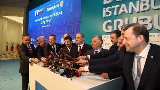 Trabzon Limanı, 18-19 Ocak tarihleri arasında Deniz Yatırım'ın konsorsiyum liderliğinde  gerçekleşen halka arzın ardından düzenlenen gong töreni ve 325 milyon TL piyasa değeri ile Borsa İstanbul'a 'merhaba' dedi.