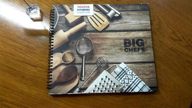 Toyota Hybrid menü Big Chefs'lerde