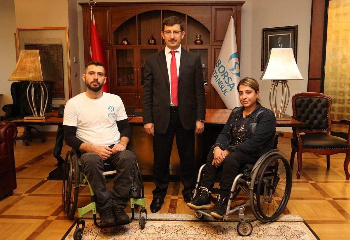 Borsa İstanbul, Türkiye Bedensel Engelliler Spor Federasyonu ile Türkiye Okçuluk Federasyonuna bağlı bedensel engelli milli okçu Abdullah YORULMAZ'a sponsor oldu.