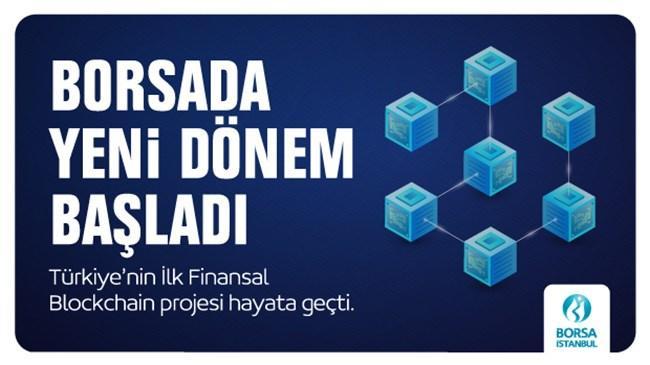 Türkiye'nin ilk finansal Blockchain Projesi Borsa İstanbul Bilişim Teknolojileri ekibi tarafından hayata geçirildi.