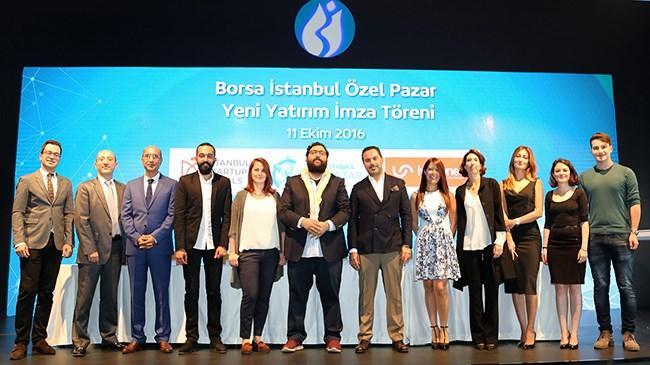 Teknolojik girişimleri yatırımcılarla buluşturma misyonu ile hareket eden Borsa İstanbul Özel Pazar, hızlı girdiği 2016 yılına yeni bir yatırım ile devam ediyor.