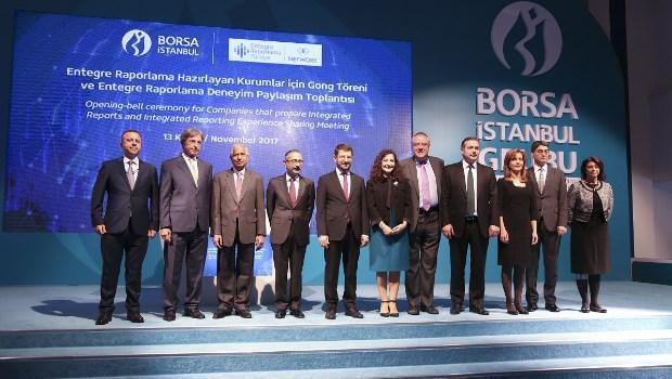 Borsa İstanbul'da Gong, Entegre Rapor Hazırlayan Kurumlar için Çaldı