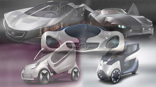 Gelecekte hayatımıza girecek 10 eşsiz araba