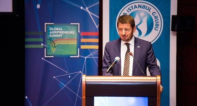 Global Tarım Girişimciliği Zirvesinin açılışını Borsa İstanbul Yönetim ve İcra Kurulu Başkanı Himmet Karadağ  yaptı.