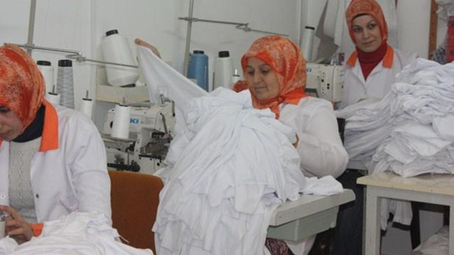 Yurtdışına iş elbisesi üretimi