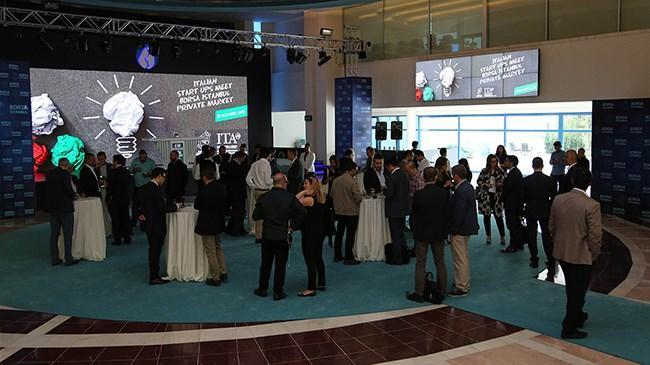 İtalya'nın inovasyon startupları Borsa İstanbul'da Türk yatırımcıların karşısında