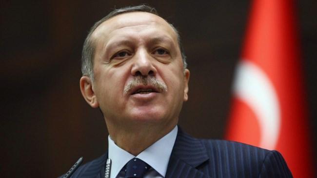 """Erdoğan, """"Türkiye Cumhuriyeti Devleti, teröristlerden de onları destekleyen sözde siyasetçi, sözde aydın, sözde sivil toplum kuruluşu temsilcisi herkesten de şehitlerimizin kanlarının hesabını sorma gücüne sahiptir."""" dedi"""