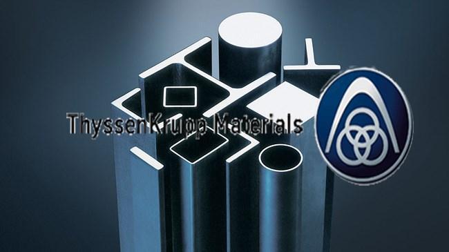 Ülkemizde distribütör olarak faaliyetlerini sürdüren ThyssenKrupp Materials International, şimdi  ThyssenKrupp Materials  adıyla Türkiye pazarına giriş yaptı
