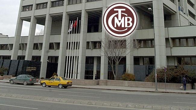 TCMB nin brüt döviz rezervi yükseldi