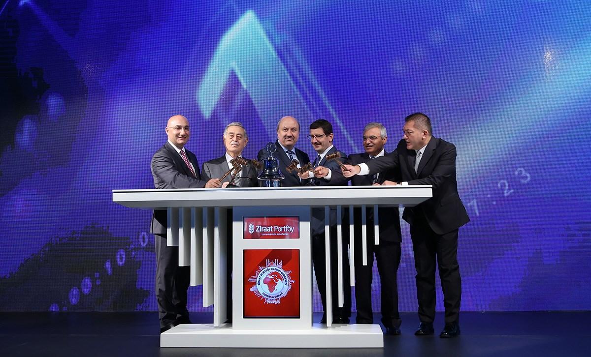 Ziraat Portföy Katılım Endeksi, Borsa İstanbul'daki Gong Töreni ile piyasalarla buluştu.