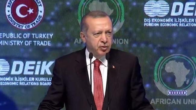 Cumhurbaşkanı Erdoğan: Yerli ve milli parayla gelin ortak iş yapalım | Ekonomi Haberleri