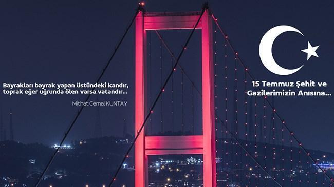 15 Temmuz Demokrasi ve Milli Birlik Günü Mesajı | Borsa İstanbul Haberleri