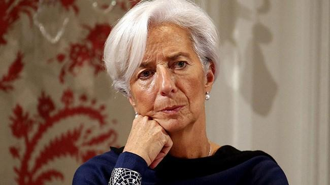 Lagarde: Ekonomi ilk çeyrekte daralmış olabilir ama… | Ekonomi Haberleri