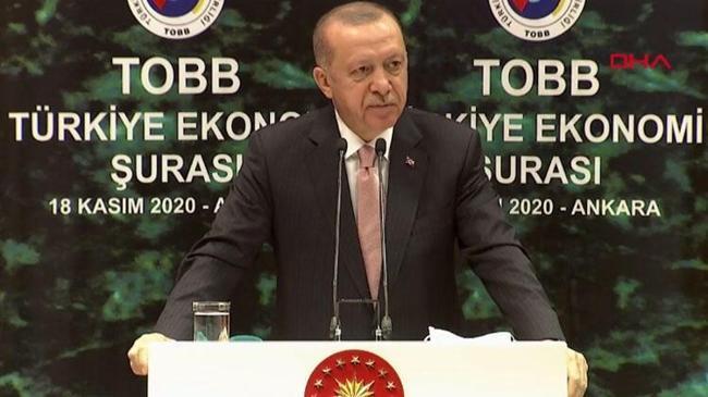 Cumhurbaşkanı Erdoğan'dan faiz uyarısı   Ekonomi Haberleri
