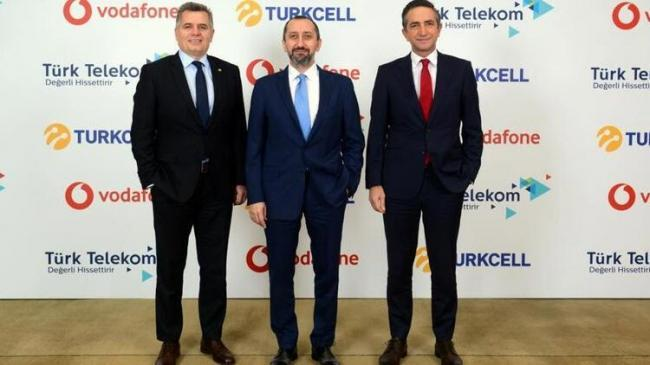 Turkcell, Türk Telekom ve Vodafone dan önemli iş birliği