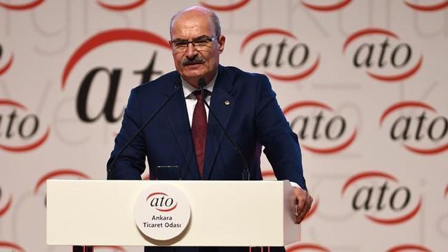 ATO Başkanından 29 Ekim Cumhuriyet Bayramı mesajı | Ekonomi Haberleri