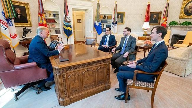 Bakan Albayrak, ABD Başkanı Trump ile görüştü | Ekonomi Haberleri
