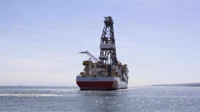 Fatih sondaj gemisi Türkali-1'de sondaja başladı | Ekonomi Haberleri