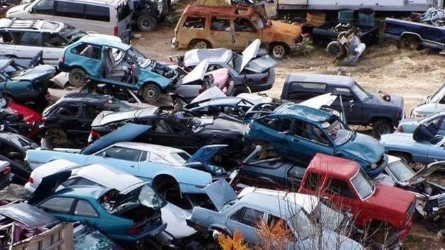 Hurda araçlardan ekonomiye 16 milyon liralık katkı | Ekonomi Haberleri