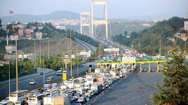 Köprü ve otoyollardan 154 milyon lira gelir elde edildi | Ekonomi Haberleri