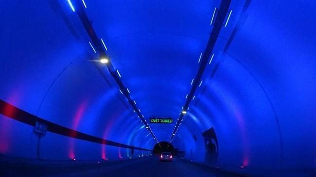 Türkiye'nin en uzun tüneli bugün açılıyor | Genel Haberler