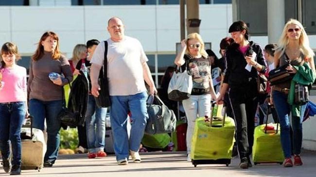 Tüm zamanların turist rekoru kırıldı | Ekonomi Haberleri