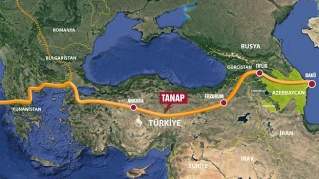 TANAP üzerinden Avrupa'ya ilk gaz | Ekonomi Haberleri