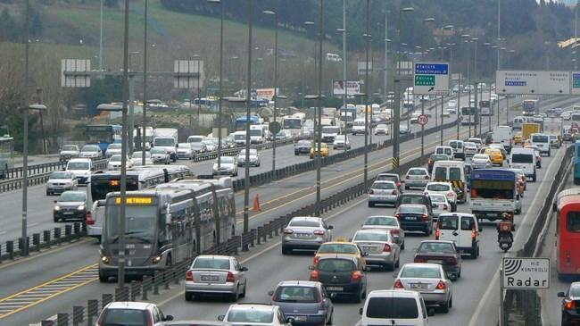 Trafiğe kayıtlı araç sayısı yüzde 34 azaldı   Ekonomi Haberleri
