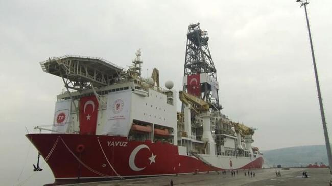 Yavuz sondaj gemisi Karadeniz için hazırlıklara başladı | Ekonomi Haberleri